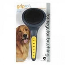Пуходерка Grip Soft д/собак с густой шерстью большая JW65001