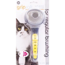 Пуходерка Grip Soft д/кошек JW65027