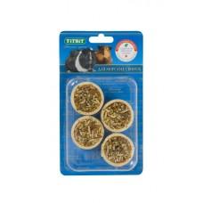 TITBIT Тарталетки с крапивой и манго д/мор.свинок (блистер 4шт) 5214 1/1