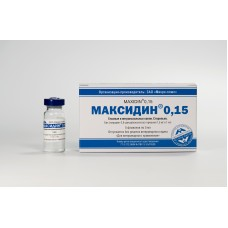 Максидин глазн.капли 5мл. 0,15%