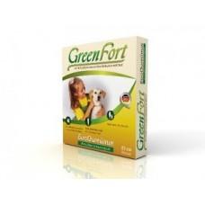 Green Fort биоошейник д/соб от блох мелких пород 35см 1/30 2364