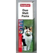 Беафар паста Duo Malt paste д/очищения кишечника кошек 100 гр. 129584  1/12