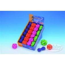 Игрушка д/соб Nobby фигура латекс 6-10 см (гантель,куб,колесо,мяч) 69089