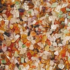 Грунт Кварц 1,3-5 мм, 2 кг 20502  натуральный смесь цветная  Триол--