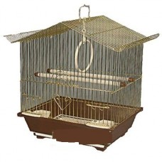 Клетка д/птиц 30*23*39см Триол 2113G-К ЗОЛОТО 50611012