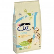 CAT CHOW 1,5 кг сух для котят Птица 1/8