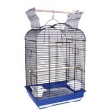Клетка д/птиц 47,5*36*68см Триол 6005(металл пластик раст.между прутьями 17,3мм) 50691032