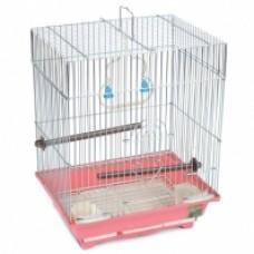 Клетка д/птиц 43*30,5*58см Триол 7005  9830 (металл,пластик)