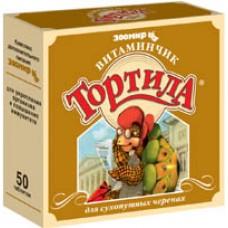 Зоомир Витаминчик Тортилла д/сухопутн.черепах №50 таб   3208  1/10