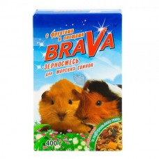 Brava 400,0 д/морских свинок фрукты+овощи 1/14