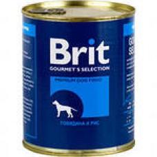 Brit конс 850,0 говядина /рис 9280 1/6