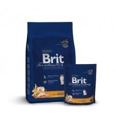 Brit 0,3 NEW Premium Cat Adult Chicken д/взр. кошек с  мясом курицы и кур.печень(513062) 3834