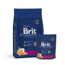 Brit 1,5кг NEW Premium Cat Adult Salmon д/взр. кошек с лососем в соусе  3841