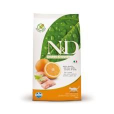 FARMINA N&D 10 кг д/кошек рыба/апельсин 4947