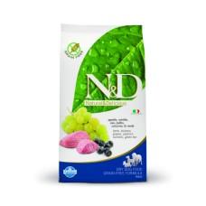 FARMINA N&D 2,5 кг д/собак Аdult Medium/Maxi ягненок/черника 6643