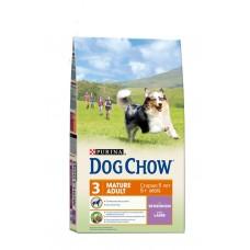 DOG CHOW 2,5кг д/с старше 5 лет ягненок