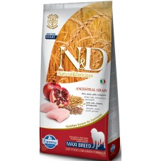 FARMINA N&DНЗ 12 кг д/собак крупных пород Аdult курица/гранат 2028*