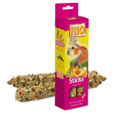 RIO палочки д/средних попугаев с тропическими фруктами 1/8