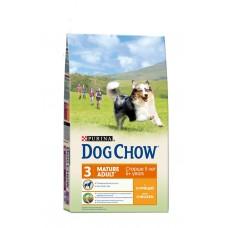DOG CHOW 14кг д/с старше 5 лет курица /рис-