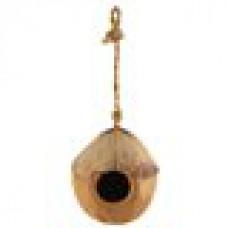 Домик д/птиц из кокоса 100-130мм CN01 52031001