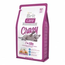 Brit 400гр Care Cat Crazy Kitten для котят, беременных и кормящих кошек 132602