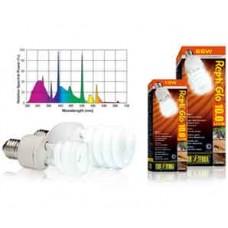 Лампа Hagen для пустынного террариума Repti Glo 10.0 Compact, Т10/13 Вт