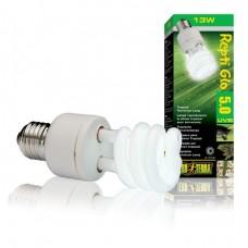 Лампа Hagen для тропического террариума Repti Glo 5.0 Compact, Т10/13 Вт