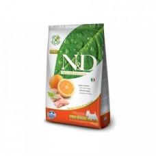 FARMINA N&D 800 гр д/собак мелких пород Аdult рыба/апельсин 1724