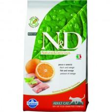 FARMINA N&D 300 гр д/кошек Аdult рыба/апельсин 6698