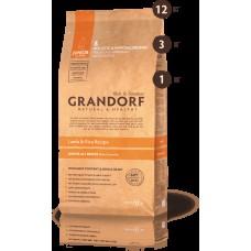 GRANDORF DOG 12кг JUNIOR ягнёнок с рисом для юниоров  8129 1/3***