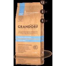 GRANDORF DOG 3кг ALL BREEDS белая рыба с рисом для собак всех пород  9033  1/9-
