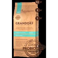GRANDORF DOG 3кг PROBIOTIC ALL BREEDS 4 мяса с рисом и пробиотиками для всех пород 6032  1/9