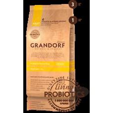 GRANDORF DOG 1кг PROBIOTIC MINI 4 Meat&Rice (4 мяса с рисом и пробиотиками д/мини пор,) 8012* 1/10