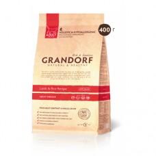GRANDORF CAT 400 г INDOOR Ягненок с рисом для кошек 2407  1/30