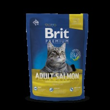Brit 0,3 Premium Cat Adult Salmon д/взр. кошек с лососем в соусе(513109)