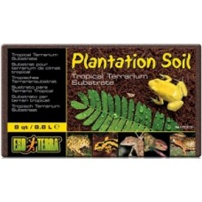 Кокосовая крошка 8,8л Субстрат EXO TERRA Plantation soil