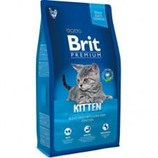 Brit 1,5кг NEW Premium Cat Kitten с курицей в лососевом соусе д/котят  513048