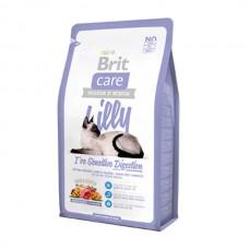 Brit 2кг Care Cat Lilly Sensitive Digestion беззерновой, для кошек с чувствительным пищеварением132616