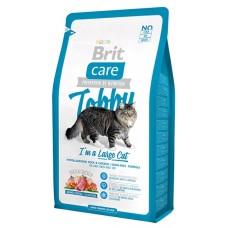 Brit 2кг Care Cat Tobby для кошек крупных пород 512997
