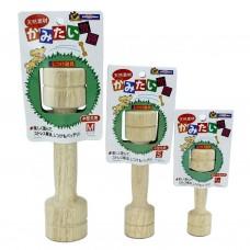 Гантеля игрушка д/собак (размер мини) Дерево 4976555853216