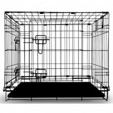 Клетка д/соб 60*42,5*50см 002-2Z(c 2 дверцами,цинк)