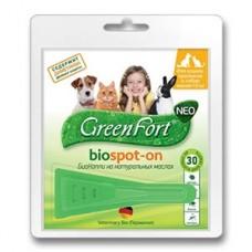 Green Fort neo БиоКапли д/кошек,кроликов и собак до 10кг