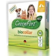 Green Fort neo БиоОшейник д/кошек и мелких собак  1/60
