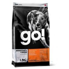GO! NATURA д/собак и щенков 11,35кг со свежим Лососем и овсянкой 0087