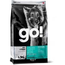 GO! NATURA д/собак и щенков 11,35кг Беззерновой с Индейкой для чувств. пищеварения 0165