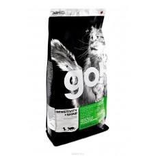 GO! NATURA д/кошек и котят 3,63кг Беззерновой с Чувств.пищеварением: Форель, Лосось 0084