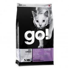 GO! NATURA д/кошек и котят 3,63кг Беззерновой  4 Мяса: Курица, Индейка, Утка и Лосось 5265