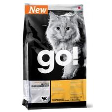 GO! NATURA д/кошек и котят 1,82кг Беззерновой с Чувств.пищеварением: со свежей уткой 0149