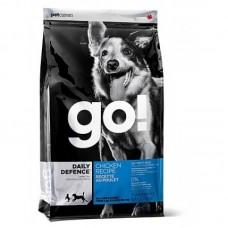 GO! NATURA д/собак и щенков 2,72кг с Цельной Курицей, фруктами и овощами 0089