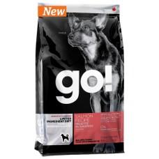 GO! NATURA д/собак и щенков 2,72кг Беззерновой с лососем для чувст. пищеварения 0146